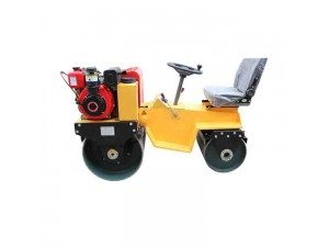 Double roller vibratory roller
